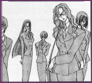 Bodyguards waiting for Tomoyo